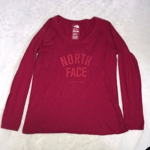 North face long sleeve L